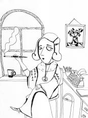 Agatha on her break