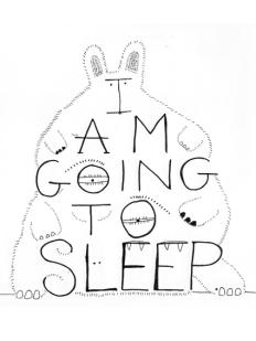 I am going to sleep
