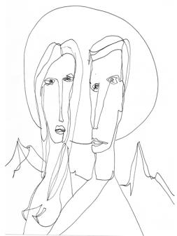 line couple