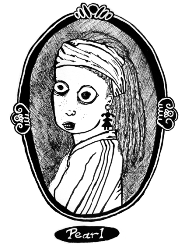 Pearl With a Girl's Earing