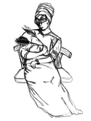 Pencil Woman