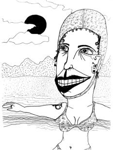 un bain de vacances